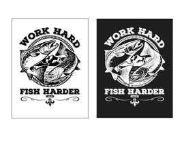 Nro 30 kilpailuun Design a Fishing T-Shirt with a Vintage Style käyttäjältä kaelvinlau