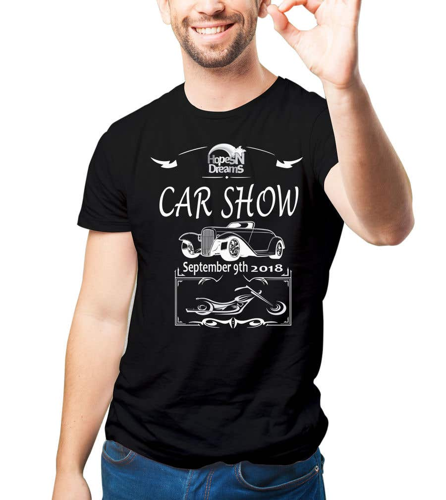 Entry By Alamin For Design A TShirt For A Charity Car Show - Car show t shirt design ideas