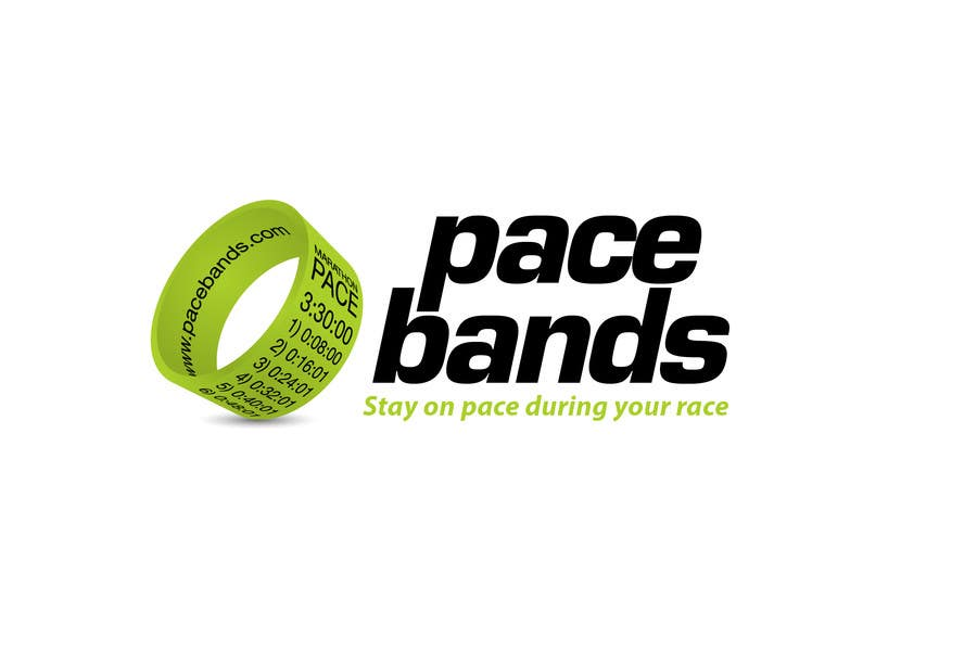 Konkurrenceindlæg #22 for Logo Design for Pacebands