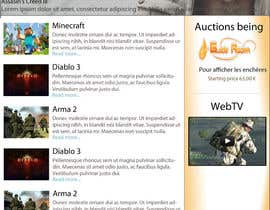 nº 4 pour Website Design for guilde agora par gamegudes