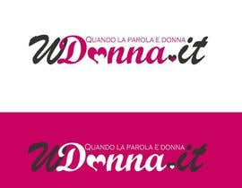#58 para Logo Design for www.wdonna.it por Frontiere