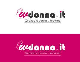 nº 81 pour Logo Design for www.wdonna.it par kreativegraphic