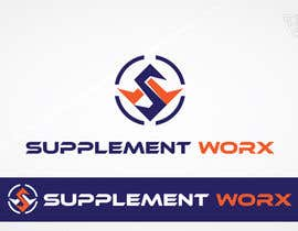 #293 untuk Logo Design for Supplement Worx oleh Ferrignoadv