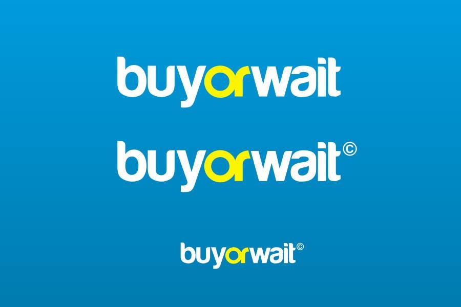 #1277 for Logo Design for BuyOrWait by dimitarstoykov