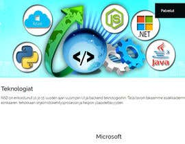 #62 untuk Design a Banner for a software technology web page oleh Tukai9836