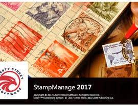 Nro 28 kilpailuun Splash Screen For Our Stamp Collecting Software käyttäjältä Ashleyperez