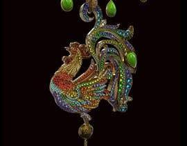 #26 dla Fine jewelry design for necklace/brooch przez mirgamaun