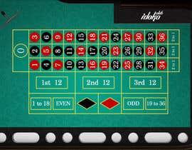 DanielJ2511 tarafından Diseño de shapes Mesa de ruleta para juego için no 5