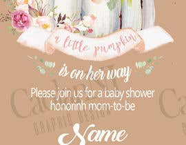 Design Baby Shower Invitation Card Freelancer