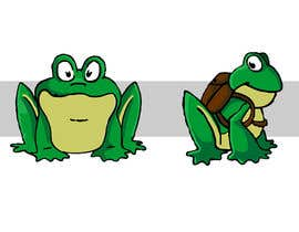 #39 para Help us create a FROG that will be our MAIN CHARACTER for new KIDS ipod app. por violeta1354