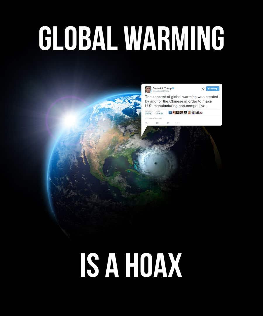 Bài tham dự cuộc thi #76 cho Design a T-Shirt: Global Warming is a Hoax
