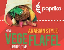 #7 for Falafel Wrap. by youweaver