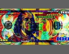 #45 for Create High Quality and Very Colorful Artwork of a $100 Dollar US Bill af banhthesanh