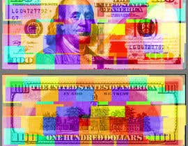#43 for Create High Quality and Very Colorful Artwork of a $100 Dollar US Bill af javethrjr