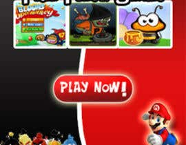 #35 for 250x250 Design To Reflect Online Gaming Section of Website by alphakings
