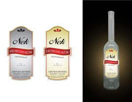#137 untuk Graphic Design- Label for fruit liqueur. oleh MOHR