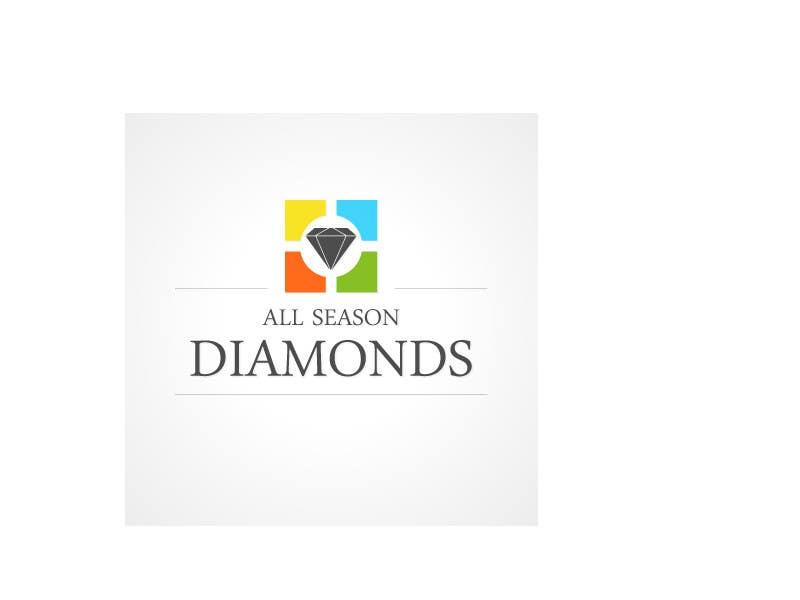 Zgłoszenie konkursowe o numerze #91 do konkursu o nazwie Logo Design for All Seasons Diamonds
