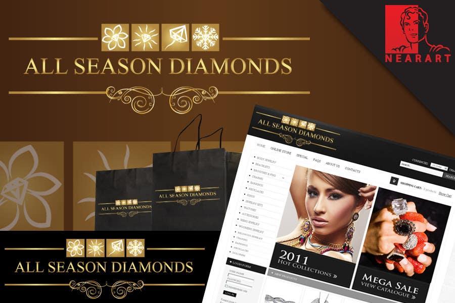 Zgłoszenie konkursowe o numerze #73 do konkursu o nazwie Logo Design for All Seasons Diamonds