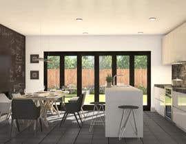 Nro 34 kilpailuun Kitchen & Living room Interior Design käyttäjältä pixelnview