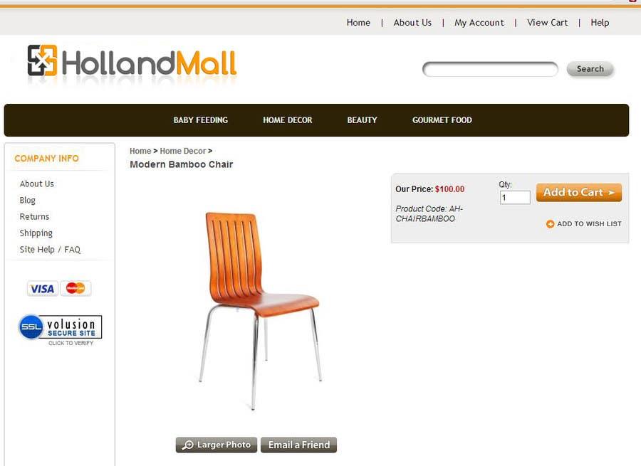 #81 for Logo Design for HollandMall by facebooklikes007
