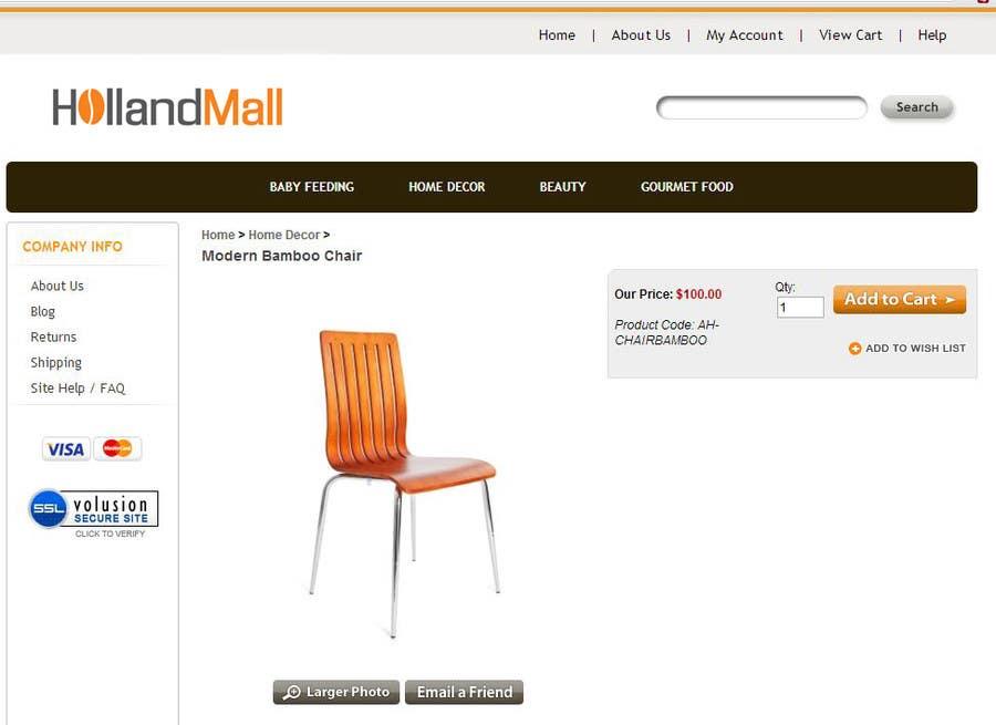 #33 for Logo Design for HollandMall by BuDesign