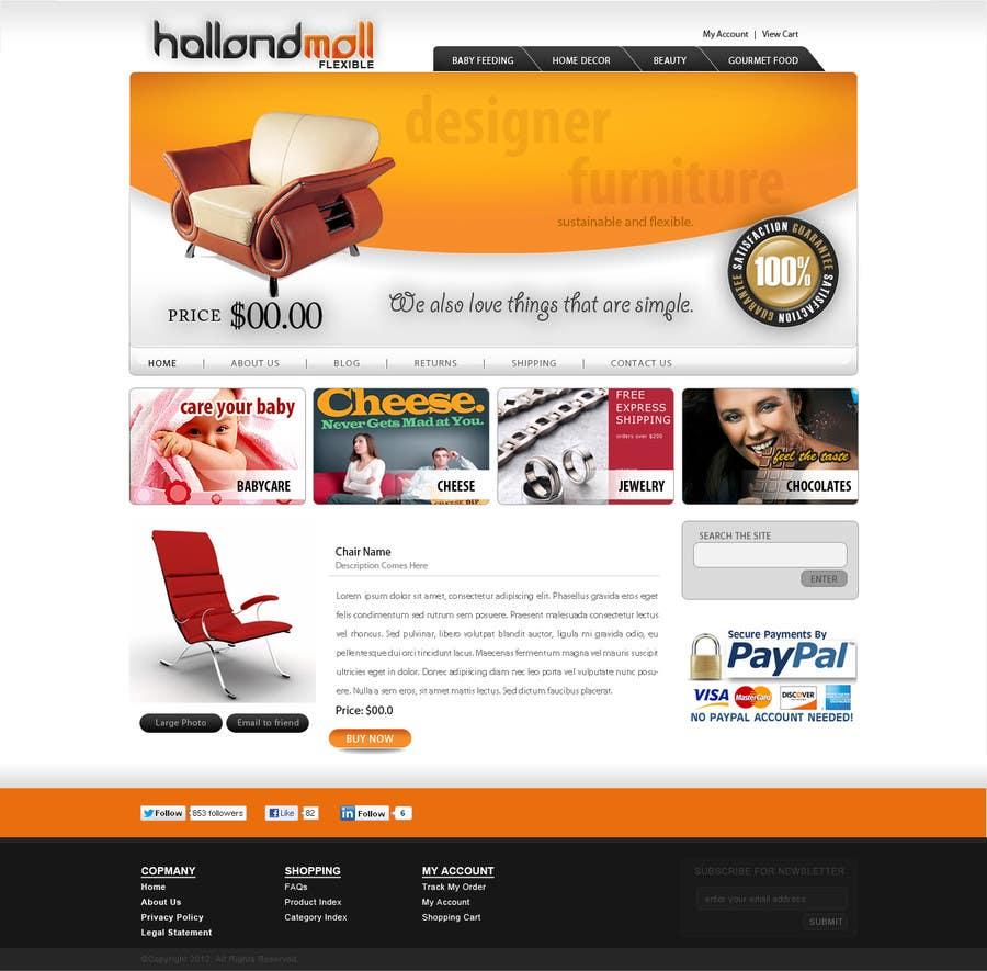 Конкурсная заявка №167 для Logo Design for HollandMall