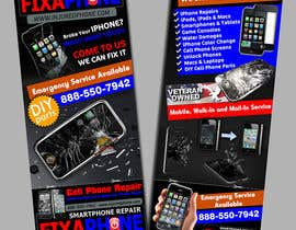 #4 for Graphic Design Flyer for Fix A Phone by creationz2011