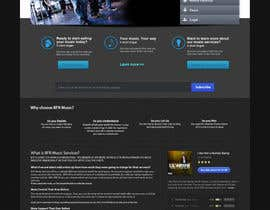 #36 pentru Website Design for BFR Music Services de către farhanpm786