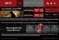 Website Design for BFR Music Services için Graphic Design25 No.lu Yarışma Girdisi