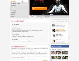 #4 pentru Website Design for BFR Music Services de către iNoesis