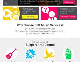 #44 cho Website Design for BFR Music Services bởi boonying