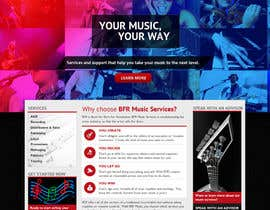 chiragbhavsar78 tarafından Website Design for BFR Music Services için no 8