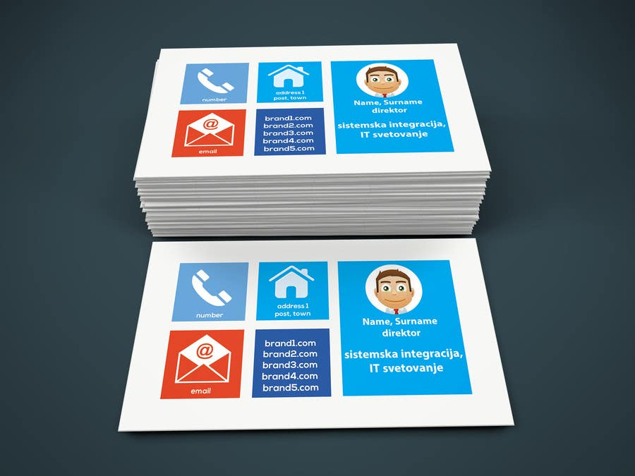 contest entry 4 for multiple brand personal business card - What To Put On A Personal Business Card