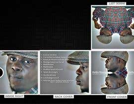 nº 4 pour CD cover Design for Herléo Muntu par escadrill