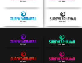 #169 cho New LOGO for Surfwearhawaii.com bởi Briancalle