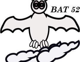 #3 for BAT52 logo  for a Surfboard af fragutamaria17