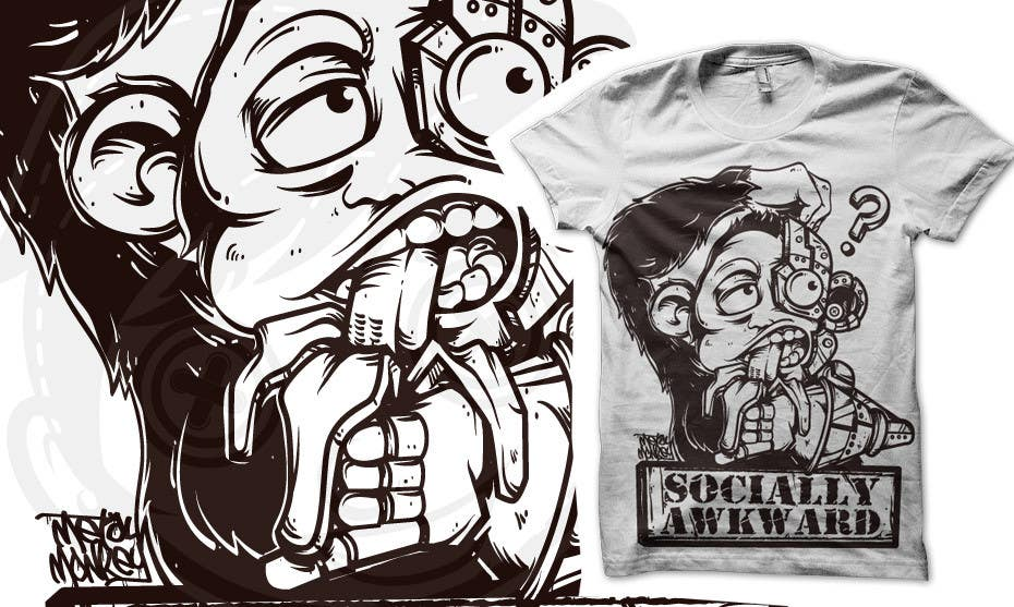 #210 for T-shirt Design for Metal Monkey Industries by crayonscrayola