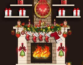#29 for Christmas Fireplace Scene by Mmiraaa