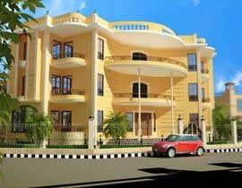 Algadi77 tarafından I need a 3d view & perspective of my building plan, with elevation options. için no 22