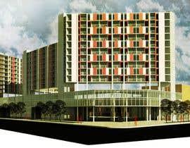 ayasaito tarafından I need a 3d view & perspective of my building plan, with elevation options. için no 5