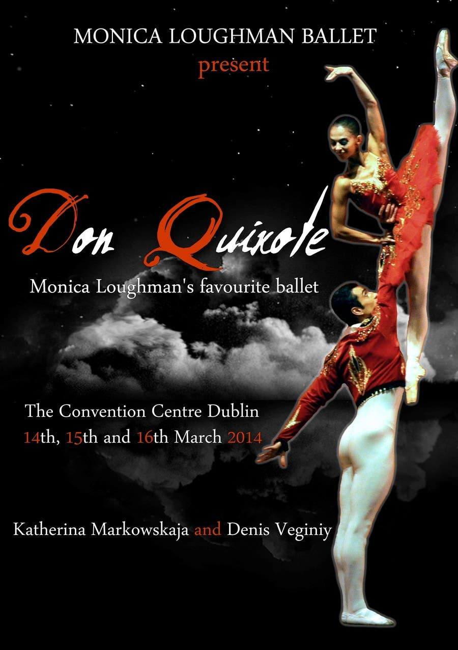 Contest Entry #52 for Graphic Design for Classical ballet event called Don Quixote