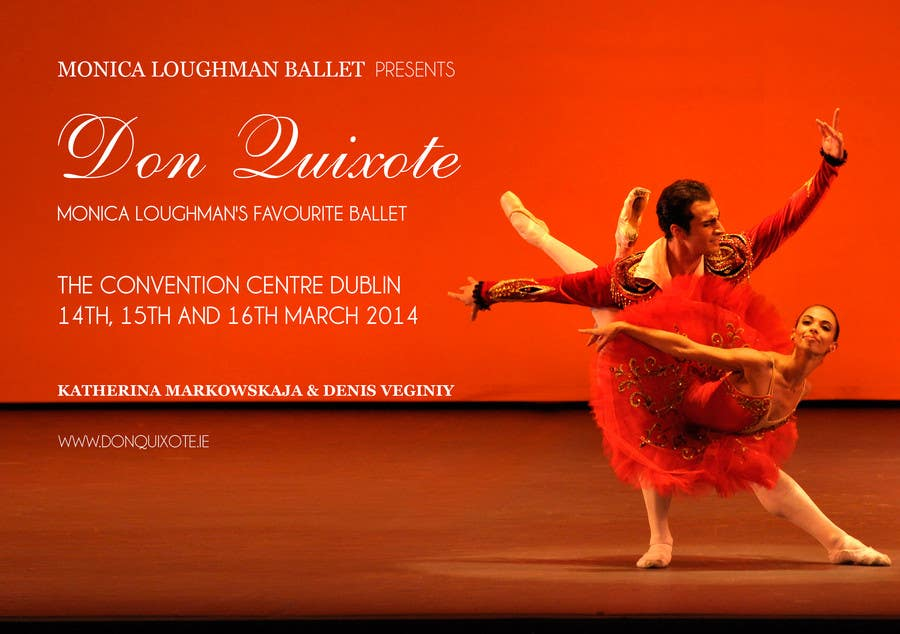 #158 for Graphic Design for Classical ballet event called Don Quixote by duongnt97