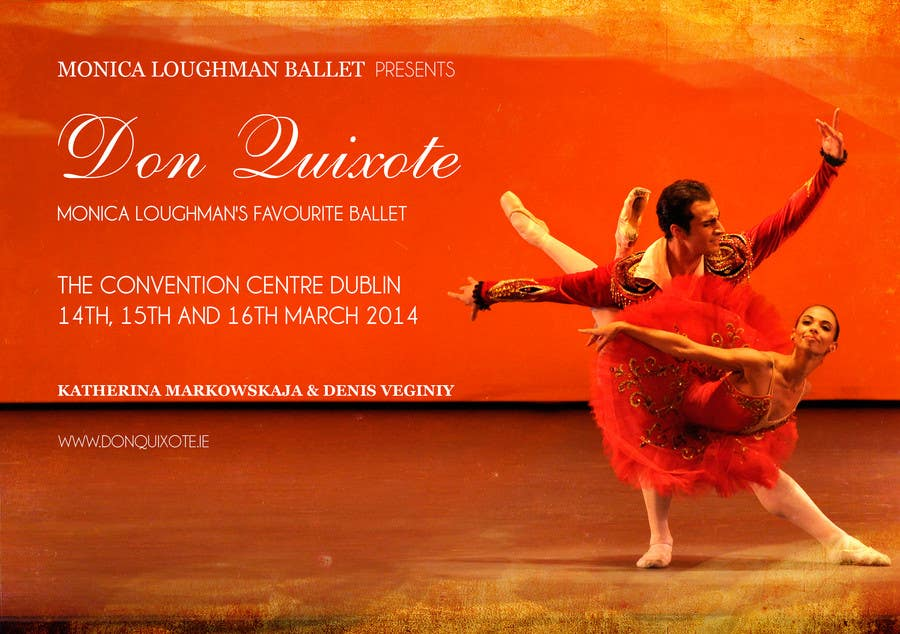 #157 for Graphic Design for Classical ballet event called Don Quixote by duongnt97