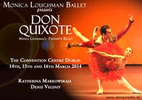 Graphic Design Contest Entry #166 for Graphic Design for Classical ballet event called Don Quixote