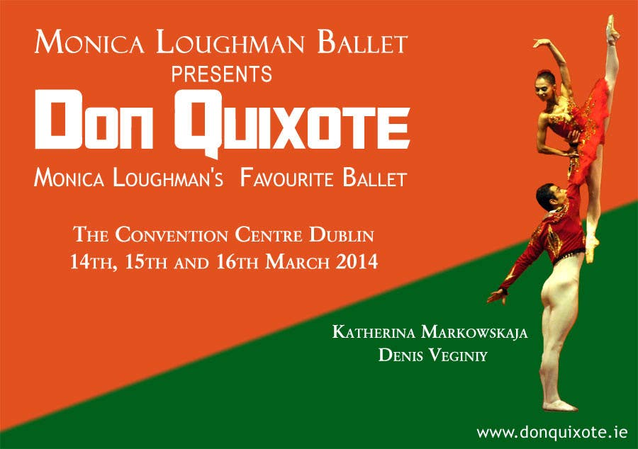 Contest Entry #93 for Graphic Design for Classical ballet event called Don Quixote