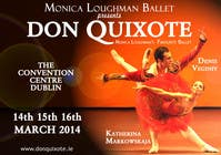 Graphic Design Contest Entry #224 for Graphic Design for Classical ballet event called Don Quixote