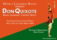 #97 for Graphic Design for Classical ballet event called Don Quixote by aqshivani