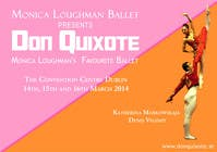 #94 for Graphic Design for Classical ballet event called Don Quixote by aqshivani