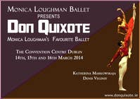 Graphic Design Contest Entry #95 for Graphic Design for Classical ballet event called Don Quixote