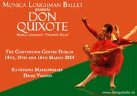 Graphic Design Contest Entry #99 for Graphic Design for Classical ballet event called Don Quixote